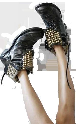 Çivi ve zımba modası ayakkabılar