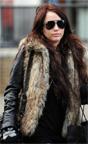 Modası geçmeyen moda deri ceket kürk yelek