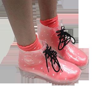 Seffaf ayakkabıları nereden satın alabilirim